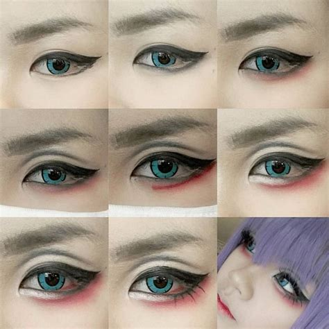 tutorial eyeliner cosplay 95 best cosplay makeup tutorials images on pinterest