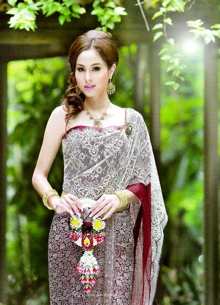 17 best images about thai wedding dress on