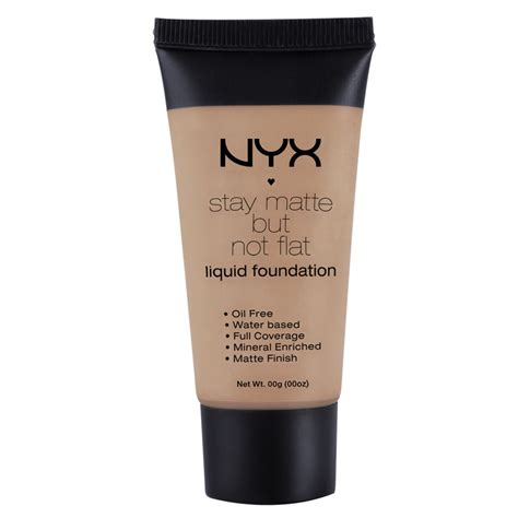 Nyx Stay Matte Foundation nyx stay matte but not flat liquid foundation free smf 1 18oz ebay