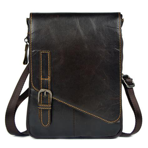 aliexpress beli merek terkenal kulit asli utusan kecil tas untuk pria tas bahu tas