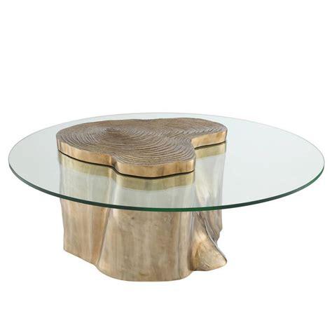 glazen salontafel met koper fabulous coffee table urban eichholtz ronde salontafel