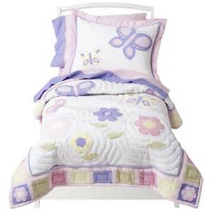 Toddler Bedding Set Sweet Jojo Designs Pink And Lavender Butterfly 5 Target