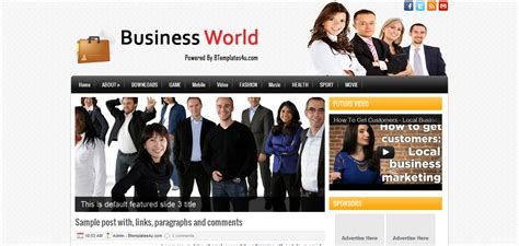free blogger templates for online business btemplate s