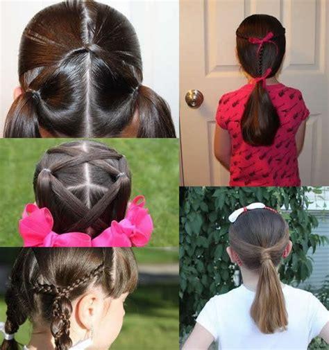easy different hairstyles best 25 school hair ideas on simple school