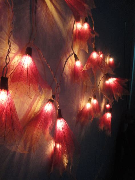 leaf string lights leaf string lights so that s cool