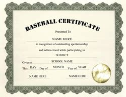 baseball certificate template geographics certificates free word templates clip
