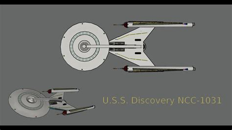 fan made trek trek discovery uss discovery ncc 1031 update fan