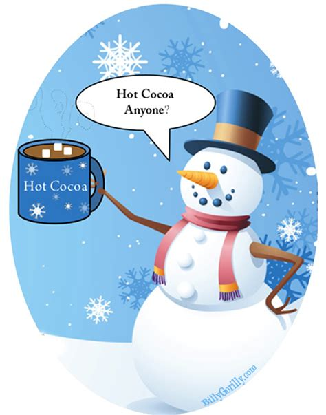 Drinking Hot Cocoa Clipart (30 )