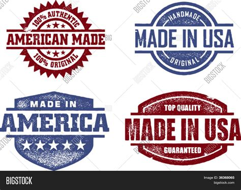 Kingbang Made In Usa Original made usa america original sts vector photo bigstock