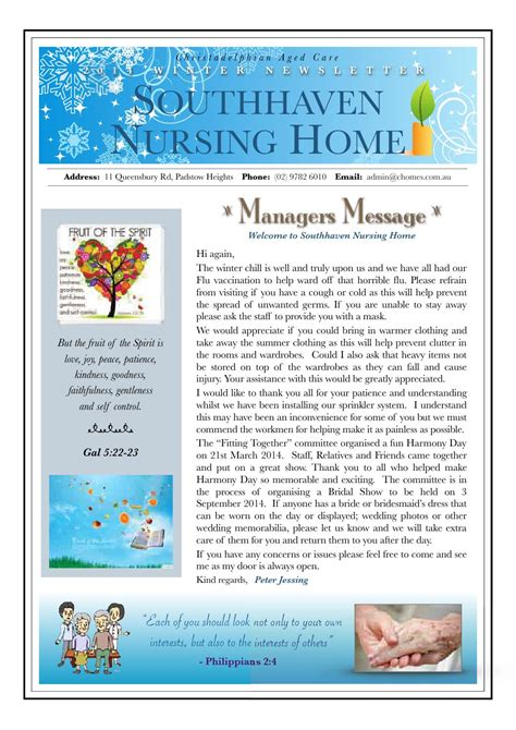 california homes winter by magazine issuu page modern southhaven nursing home winter newsletter 2014 by jenny