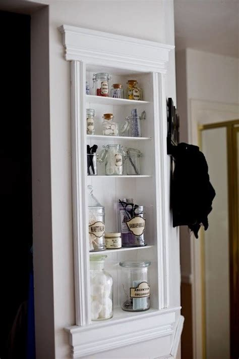 In Wall Bathroom Shelves by 29 Best In Wall Storage Ideas To Save Your Space Shelterness