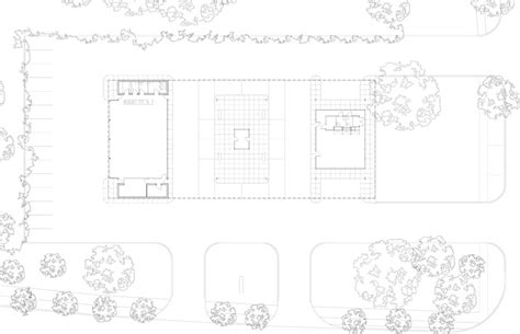 Philip Johnson Offical Glass House Building Floor Plans Scaled by Les Architectes Fabg Mies Der Rohe Gas Station Conversion