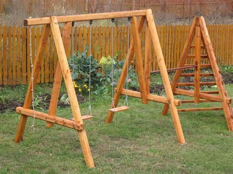 plans for a wooden swing set outdoor a frame swing set plans swing set plans for home
