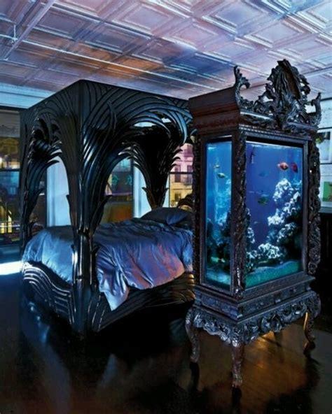 mysterious gothic bedroom interior design ideas