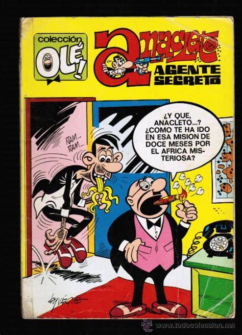 libro anacleto agente secreto coleccion ole anacleto agente secreto brug comprar tebeos ole editorial bruguera en