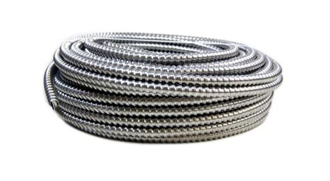 12 aluminum electrical wire southwire 100 ft 12 2 aluminum mc light armored cable