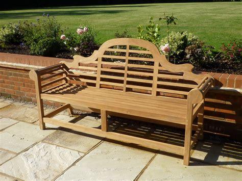 lutyens garden bench lutyens teak garden bench