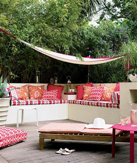 outdoor decor ideas tropical punch 22 outdoor decor ideas real simple