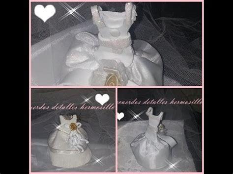 arreglos de boda para mesa hechos de foami imagui recuerdo de boda vestiditos de novia 2014