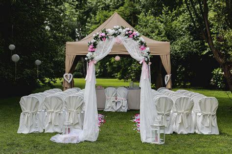 gazebo matrimonio matrimonio fai da te idee per un quot s 236 quot economico panorama