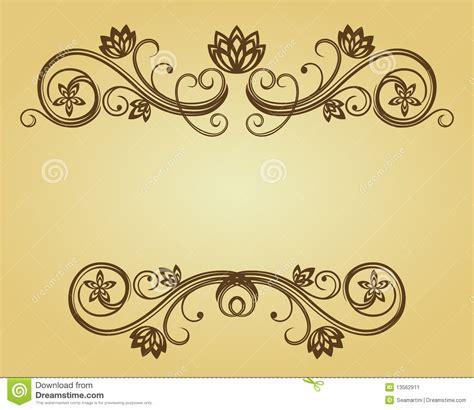 background design kad vintage frame stock image image 13562911