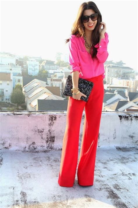 what goes with pink what to wear with red pants by 3 ways to wear