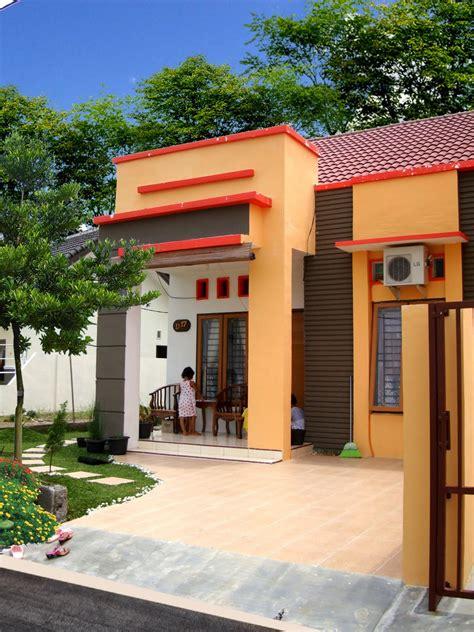 model desain rumah minimalis warna coklat yg ideal