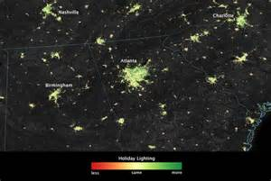 holiday lights from space images from the suomi npp satellite