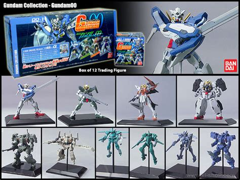Bandai Characters Collection Trading Figure bandai gundam collection gundam 00 1 200 scale box