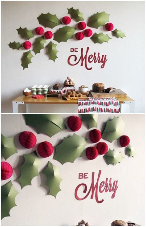 christmas wall decoration ideas best 25 christmas wall decorations ideas on pinterest