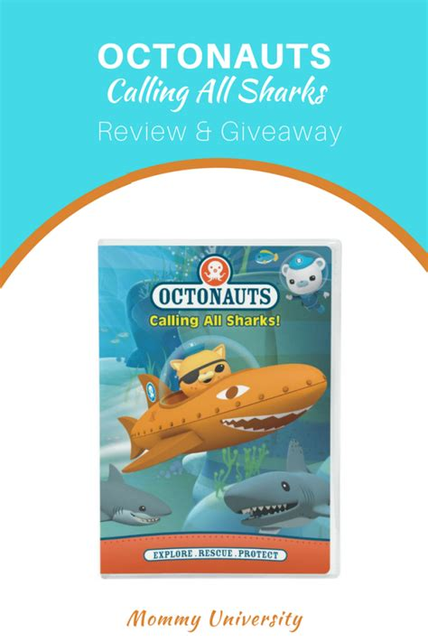 Sharks Giveaways 2017 - win octonauts calling all sharks dvd mommy university