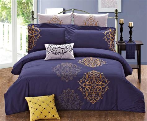 purple and gold comforter sets home staging accessories 2014