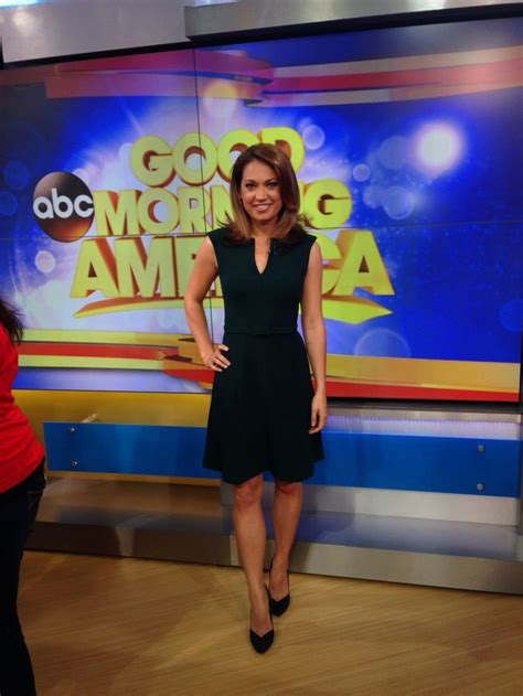 what did ginger zee wear yesterday just bought the dress trina turk shoes sigerson