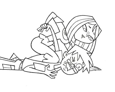 Total Drama Island Coloring Pages Coloring Home Total Drama Island Coloring Pages