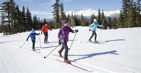 cross country ski styles cross country skiing whistler sport legacies