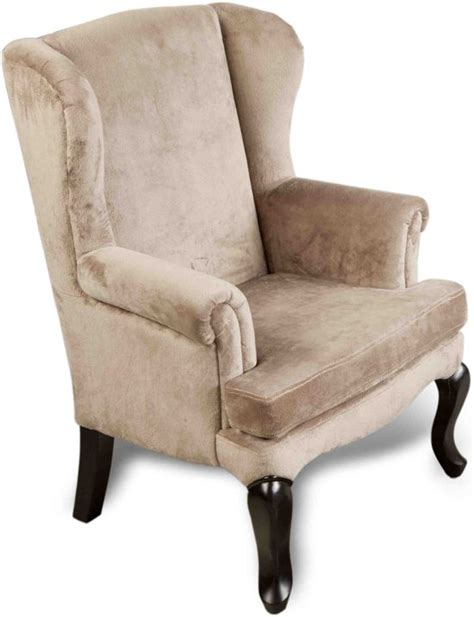 fauteuil velours taupe bol fauteuil velours taupe 49 47 75