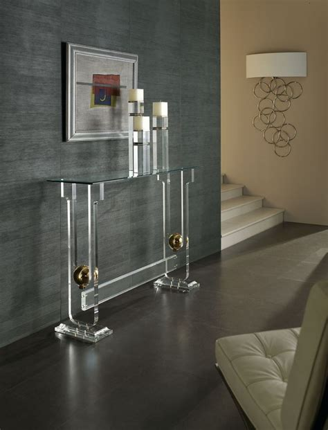 Contemporary Home Accessories This Glass Sofa Table Is Sofa Table Accessories