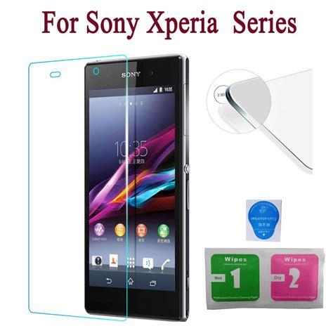 Tempered Glass Sony Xperia All Tipe Temperedglass Xperia All Tipe 2 5d 9h screen protector tempered glass for sony xperia m4 aqua x xa m5 z l36h z1 l39h z2 z3