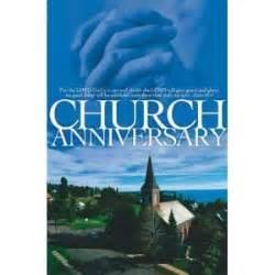 Church anniversary themes book covers