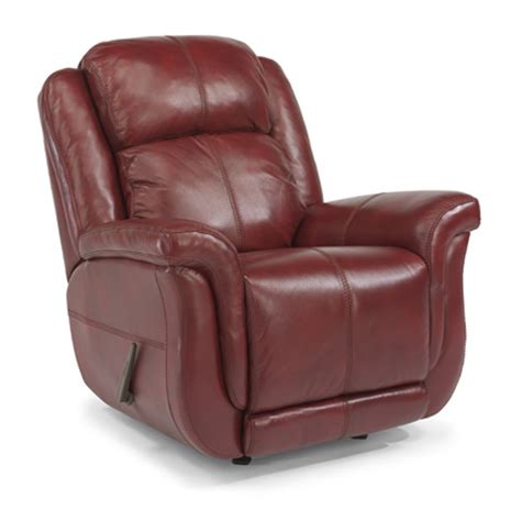 discount leather recliners flexsteel 1251 510 brookings leather rocking recliner discount furniture at hickory park