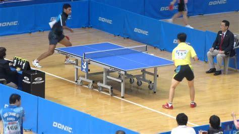 Tenis Meja Tenis Meja tenis meja david vs ge yang beregu putra korean open para tt 2013