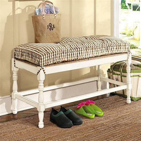 farmhouse bench cushion 17 best images about mud room on pinterest trash bins solid pine and entry ways