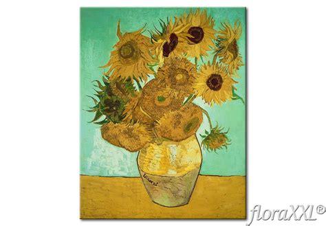 fiori gogh quadro su tela fiori gialli gogh floraxxl