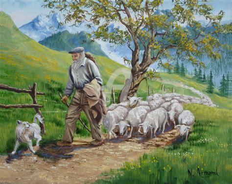 Le Berger le berger par nathalie armand jpg montagne