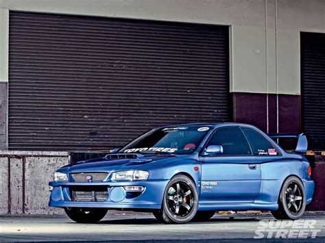 subaru gc8 widebody beatiful 22b replica