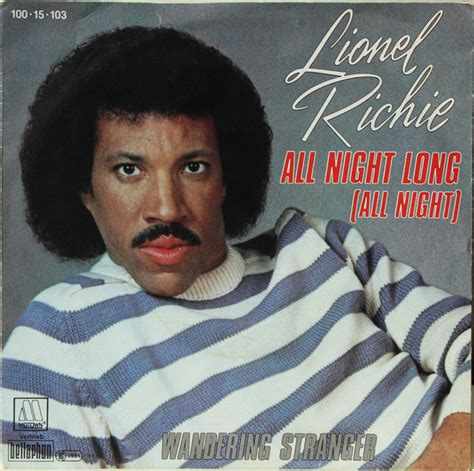 gotta have house music all night long lionel richie all night long all night vinyl at discogs