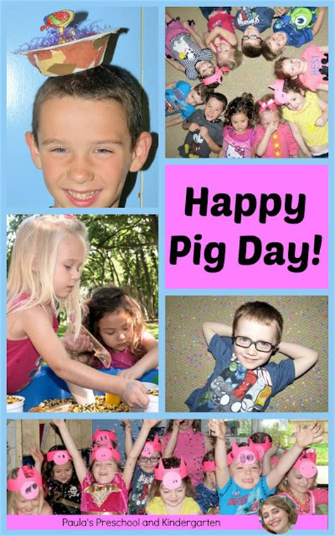 happy pig day paula s preschool and kindergarten happy pig day