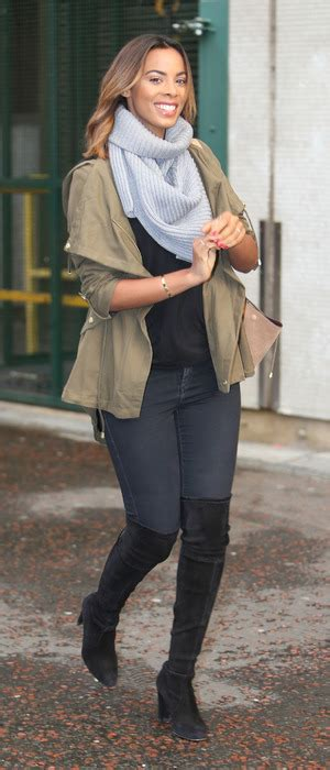 Rocella Rok Khaky get the look rochelle humes rock k inspired jacket fashion news reveal