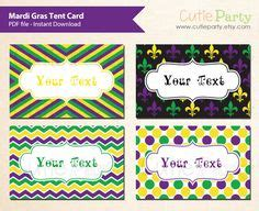 mardi gras table place card template pin by cherish funkhouser bedwell on levis bday