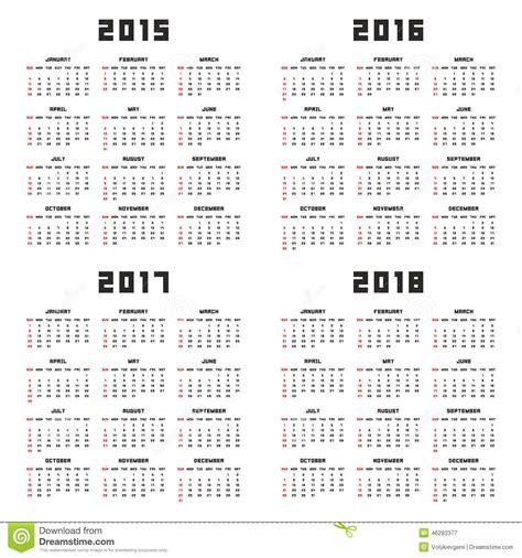 2018 Pocket Calendar Printable Printable Calendar 2018 Pocket Calendar Template 2018